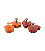 Paula Deen® Signature Bakeware 4-pc. Set: Pie Press Cutters