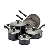 Paula Deen® Black Traditional Porcelain 10-pc. Cookware Set