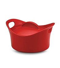 Rachael Ray® Red Stoneware 2.75-qt. Covered Round Casserole