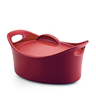 Rachael Ray® Stoneware 4.25-qt. Covered Oval Casserole Dish