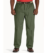 Canyon Ridge® Men's Big & Tall Elastic Waist Twill Pants
