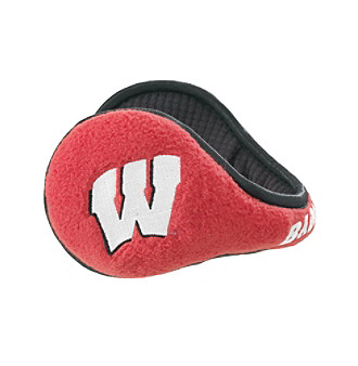 180s® Men's NCAA® Wisconsin Badgers Ear Warmers - Garnet