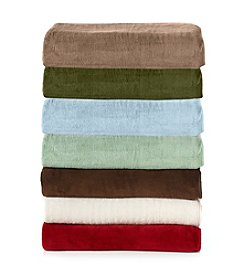 Elite Home Products All Seasons Plush Micro Fleece Blankets