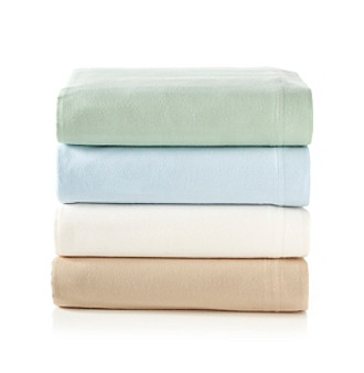 Elite Home Products Supima® Cotton Flannel Sheet Blankets