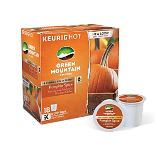 Green Mountain Coffee® Pumpkin Spice Limited Edition 18-pk. K-Cup® Portion Pack