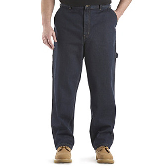 Canyon Ridge® Men's Big & Tall Relaxed-fit Carpenter Jeans - Dark Wash