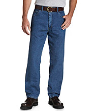 Wrangler® Men's Big & Tall Stretch Jeans - Stone Wash