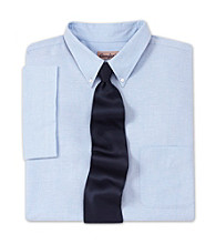 Comfort Zone® Men's Big & Tall Neck-Relaxer® Oxford Dress Shirt