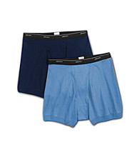 Jockey® Men's Big & Tall 2-pk. Boxer Briefs