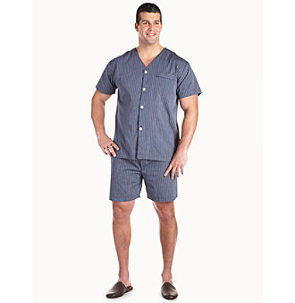 Buy big and tall sleepwear - Harbor Bay Men\'s Big & Tall Short Pajamas Men\'s