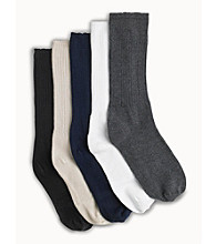 Men's Big & Tall Extra-wide Fancy Socks