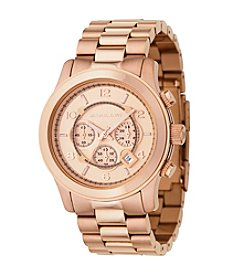 Michael Kors® Men's Oversized Chronograph Watch - Rose Goldtone