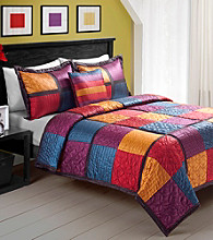 Addison Quilt Set by Sunham Home Fashions