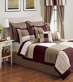 Evening Sky Comforter Set by Sunham Home Fashions - Green