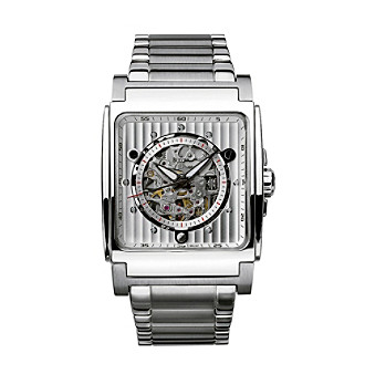 Bulova® Men's Self-Winding Stainless Steel Watch