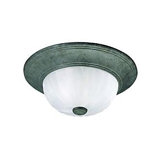 Savoy Housewares® Flush Mount Ceiling Light - Dark Green
