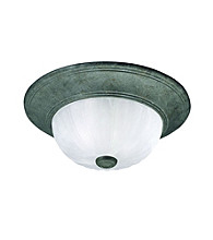 Savoy Housewares® Flush Mount Ceiling Light - Dark Green