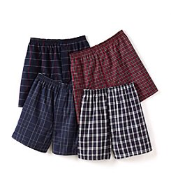 Jockey® Men's Classic 4-Pack Boxers - Assorted