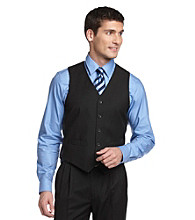 Dockers® Men's Classic Vest - Black Stripe