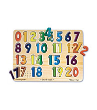 Melissa & Doug® Numbers Sound Puzzle