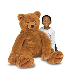 Melissa & Doug® Jumbo Plush Brown Teddy Bear
