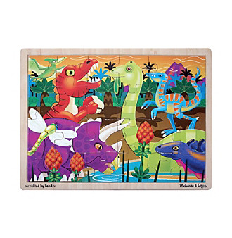 Melissa & Doug® 24-pc. Prehistoric Sunset Jigsaw Puzzle