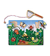 Melissa & Doug® Bug-Catching Magnetic Puzzle Game