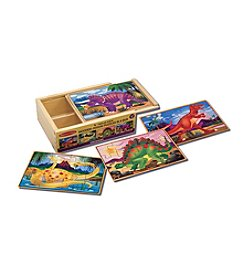 Melissa & Doug® Dinosaur Jigsaw Puzzles in a Box