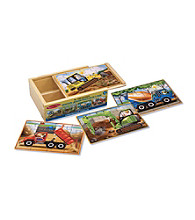 Melissa & Doug® Construction Puzzles in a Box