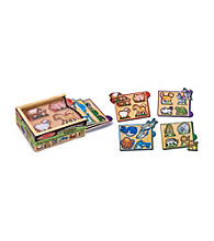 Melissa & Doug® Animals Mini-Puzzle Pack