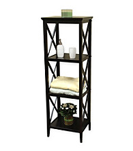 RiverRidge Home Products X-Frame Towel Tower - Espresso