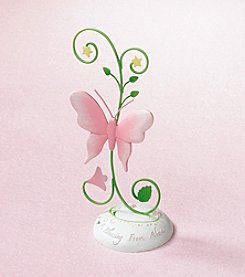 Lillian Rose® Baby Blessing Butterfly Photo Pick