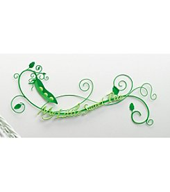"Lillian Rose® Painted Metal ""Sweet Pea"" Wall Decoration"