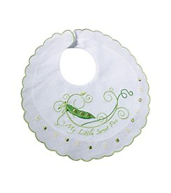 "Lillian Rose® ""Sweet Pea"" Baby Bib"