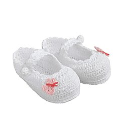 Lillian Rose® Baby Butterfly Crocheted Booties