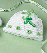 Lillian Rose® Baby Sweet Pea Crocheted Cap