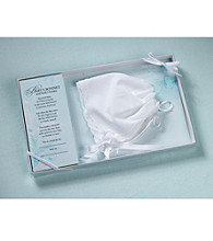Lillian Rose® Baby White Keepsake Bonnet