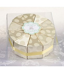 Lillian Rose® 10-pc. Baby Cake Yellow Favor Box Set