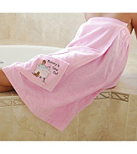 "Lillian Rose® ""Mommy's Time Out"" Bath Wrap"
