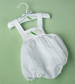 "Lillian Rose® Baby ""Little Sweet Pea"" White Romper"
