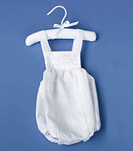 Lillian Rose® Baby Christening White Romper