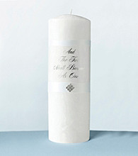 Lillian Rose® Diamond White Palm Wax Unity Candle