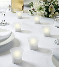 Lillian Rose® 6-pc. Flameless Tealight Votive Candle Set