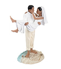 Lillian Rose® African-American Beach Wedding Figurine