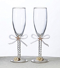 Lillian Rose® 2-pc. Coastal Mist Toasting Glass Set