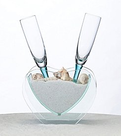 Lillian Rose® 3-pc. Coastal Sand Toasting Glass Set
