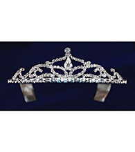 Lillian Rose® Rhinestone Drop Tiara