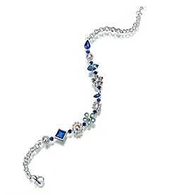"Lillian Rose® ""Something Blue"" Anklet"