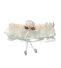Lillian Rose® Coastal Ivory Seaside Garter