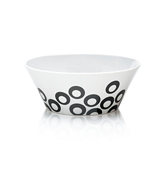 Mikasa® Circle Chic Black Soup Bowl